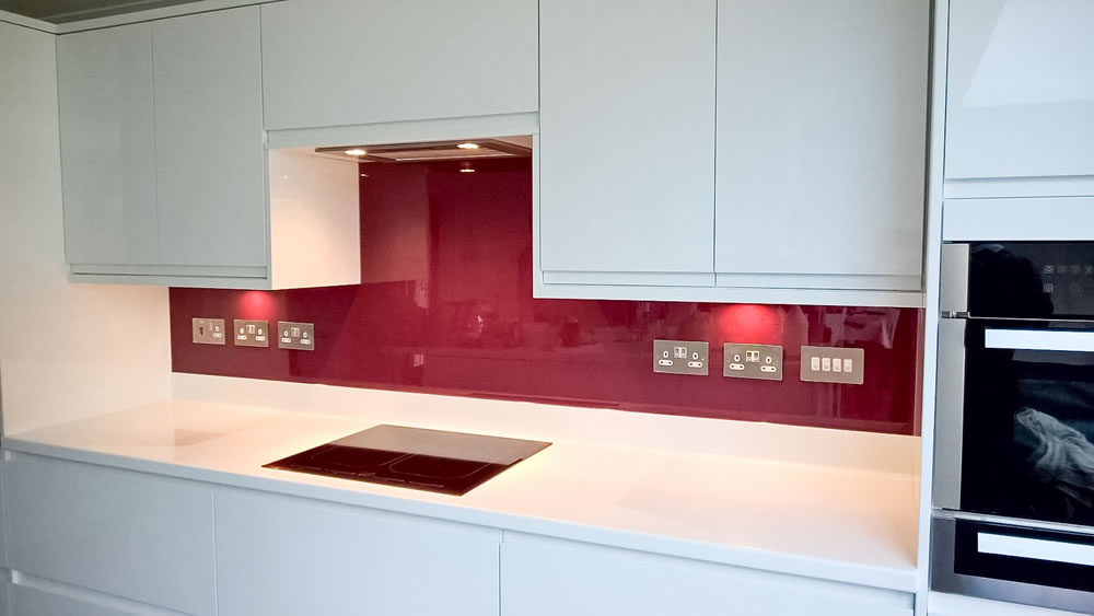Glass Splashbacks in Surrey